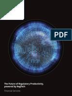 Us Regulatory Future of Regulatory Productivity Powered by Regtech
