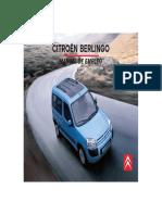 Citroen Berlingo - Manual de Usuario (108 Pag)
