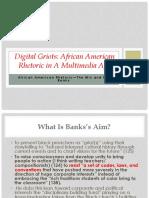 Presentation Digital Griots