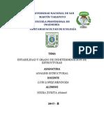 Informe de Analisis Estructural 2