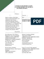 Damus Habeas Corpus Petition