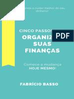 5 Passos Para Organizar Suas Finanças 291 Kb