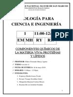 Informe Proteinas y Lipidos