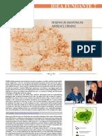 Pesci, Rubén. 10 Ideas Fundantes. 7 - Reserva de Biósfera en Ambiente Urbano