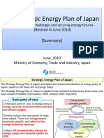 The Strategic Energy Plan of Japan-Meeting Global Challenges and Securing Energy Futures-(Revised in June 2010) [Summary]