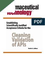 Clianing Validation of API´s