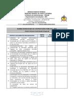 Check List Para Obras e Servicos de Engenharia Contratação Integrada No Rdc