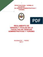 Reglamentpo de Grados Ly Titulos Fcatr 2018