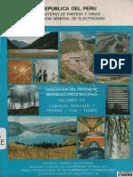 POTENCIAL HIDROELECTRICO DEL PERU - MISION ALEMANA