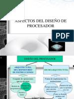 ASPECTOS DEL DISEÑO DE PROCESADOR.ppt