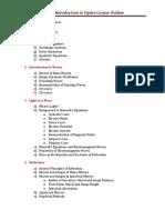 Module 1 Outline