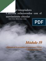 Actividad integradora Cálculos relacionados con el movimiento circular