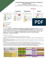 Calendario 2018 Modelado Tridimensional Parametrico
