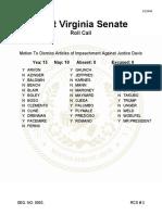 Senate Roll Call