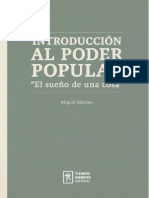 Introduccion Al Poder Popular Miguel Mazzeo
