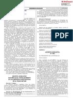 Decreto Legislativo que modifica la Ley 30204 Ley que regula la transferencia de la gestión administrativa de gobiernos regionales y gobiernos locales y establece medidas para contribuir a garantizar la continuidad de la provisión de servicios públicos durante el proceso de transferencia de la gestión administrativa de gobiernos regionales y gobiernos locales