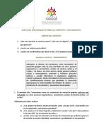 Guía para Reflexionar en torno al Contexto y los Mandatos del CEAAL