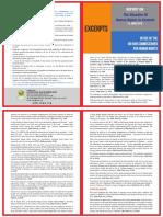 Excerpts - of UN Kashmir Report