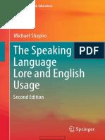 The Speaking Self Language Lore and English Usage