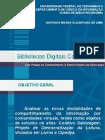 Bibliotecas Digitais Colaborativas