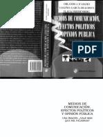 Comunicacion Efectos Politicos y Opinion Publica