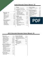 2012 Chevrolet Silverado Owners