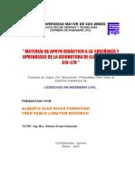 MATERIAL DE APOYO DIDÁCTICO A LA ENSEÑANZA Y APRENDIZAJE DE LA ASIGNATURA DE ELECTROTECNIA.pdf