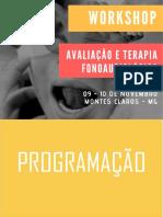 Programação - Workshop Terapia Fonoaudiológica (1) (1)