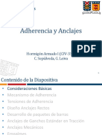 04_Adherencia y Anclajes