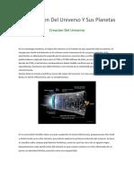Creacion Del Universo Y Sus Planetas.docx