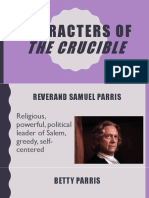 characters of crucible