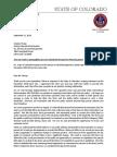 Governor Hickenlooper Letter to Colorado Bureau of Land Management