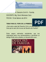 Pregunta para el Foro de D° de Familia (1)