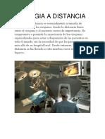 Cirugia a Distancia