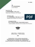 Icao Doc 7488 Standard Atmosphere