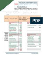 Ficha de Integridad Huancaya