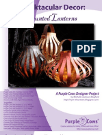 Spooktacular Decor Haunted Lanterns by Michelle Jackson-Mogford