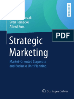 Torsten Tomczak, Sven Reinecke, Alfred Kuss-Strategic Marketing_ Market-Oriented Corporate and Business Unit Planning-Gabler Verlag (2018)