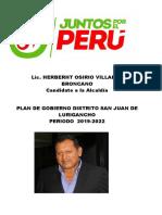 Plan Juntos Por El Perú
