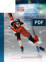 Calgary BidCo Winter Olympics plan - 2018