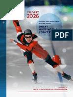 Calgary BidCo Winter Olympics plan - 2018