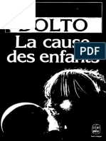 Dolto La Cause Des Enfants