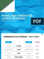 PAINEL DAS VENDAS DE LIVROS NO BRASIL