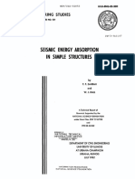 Seismic Energy Absorption in Simple Structures