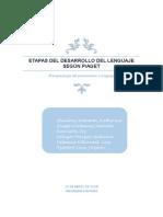 Etapas Del Desarrollo Del Lenguaje Según Piaget - 29