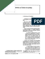 A. Machado Pauperio - Do Estado de Direito Ao Estado de Justiça (Artigo)