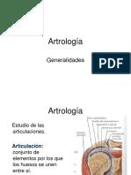 Artrologia- 2016