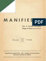 Manifiesto PS