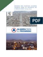Plan Alianza Para El Progreso
