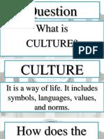 Cultural Evolution of Man